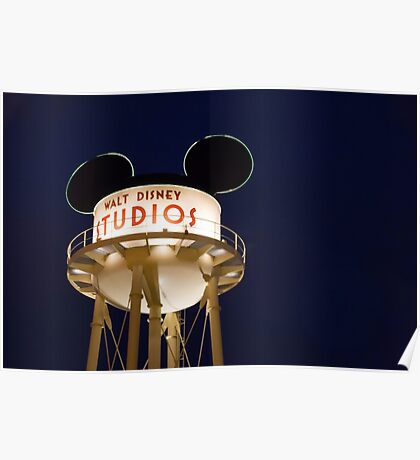 Walt Disney Studios Poster