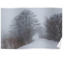 Snowstorm Magic Poster