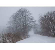 Snowstorm Magic Photographic Print