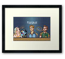 Funhaus ! - James , Elyse , Bruce  Framed Print