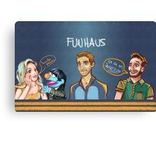 Funhaus ! - James , Elyse , Bruce  Canvas Print