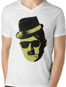 Hipster Hitler Mens V-Neck T-Shirt