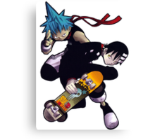 Soul Eater - Black Star & Death The Kid Canvas Print