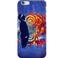 Tenth Banksy (Grunge Version) iPhone Case/Skin
