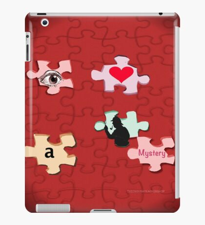 I Love a Mystery Pieces of the Puzzle iPad Case/Skin
