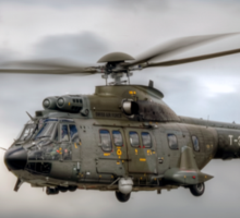 Swiss Air Force Super Puma Sticker