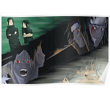 Sasuke and Itachi Bonds Poster