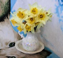 Daffodils by Avril Harris