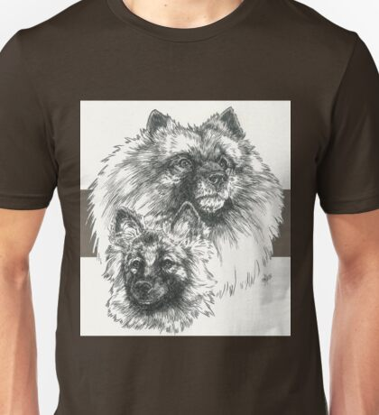 Keeshond Father & Son Unisex T-Shirt