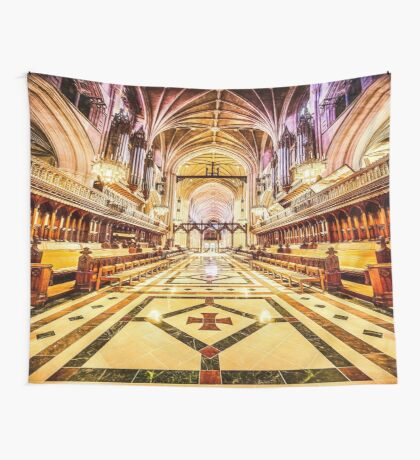 Magnificent Cathedral IV Wall Tapestry
