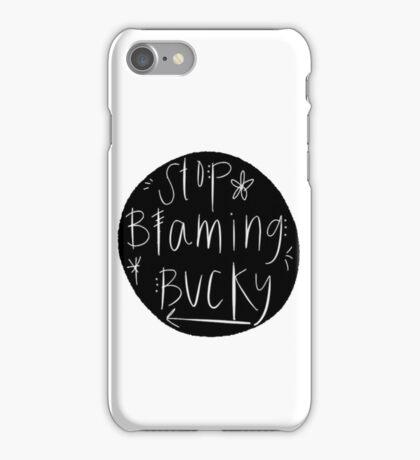 Stop Blaming Bucky iPhone Case/Skin