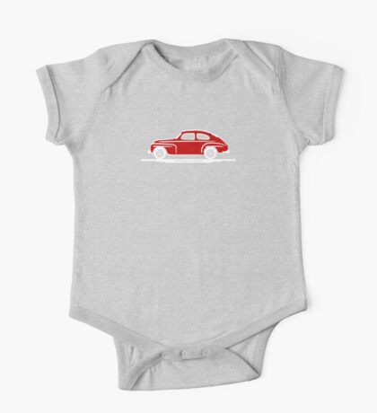 Volvo PV544 Red for The Volvo Fans One Piece - Short Sleeve