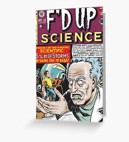 F'D Up Science Greeting Card