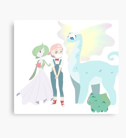Khire and some Pokemon Canvas Print
