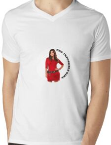 Clara Oswald new impossible Mens V-Neck T-Shirt