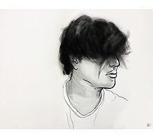 Hair sketching Photographic Print