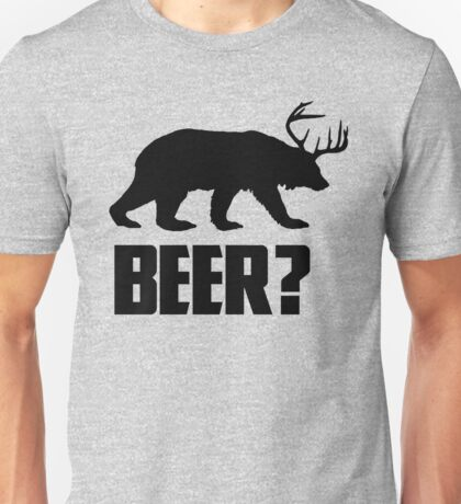 Beer, Bear? Unisex T-Shirt