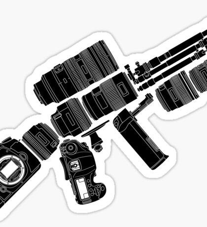 Camera Weapon Sticker