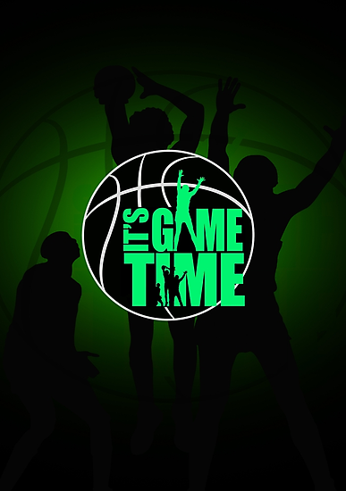 It's Game Time - Green by Adamzworld