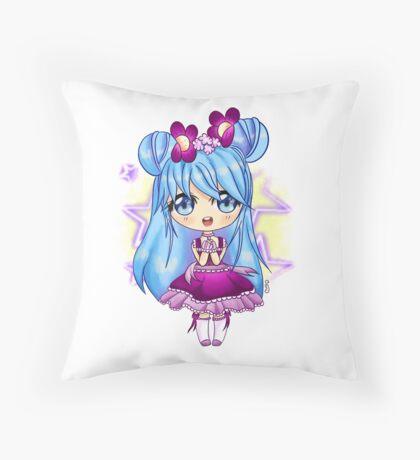 My little Girl Throw Pillow