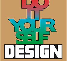 Do It Yourself Design Logo by Jop Staphorst