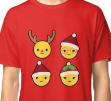 Face emotion christmas Classic T-Shirt
