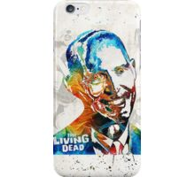 Zombie Art - The Living Dead - Halloween Fun iPhone Case/Skin