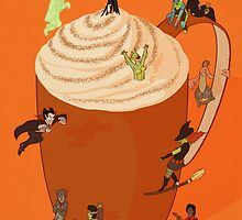 Pumpkin Spiced Latte by Stephen-Sharpe