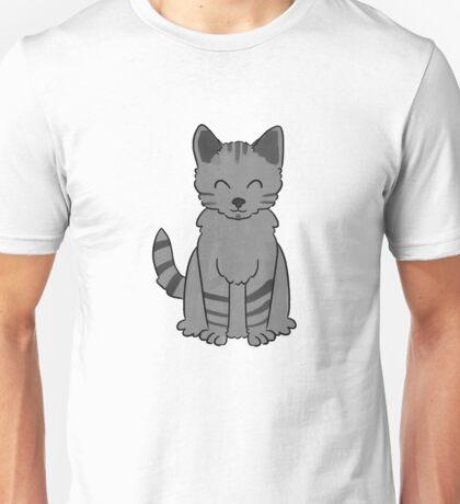 A Stripy, Happy Cat Unisex T-Shirt