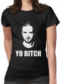 Jesse Pinkman - YO BITCH Womens Fitted T-Shirt