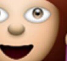 Hair Toss emoji Sticker