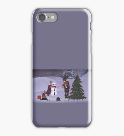 Heavy Weapons Family Holiday iPhone Case/Skin