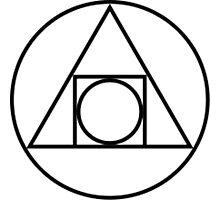 Philosophers Stone Alchemical Symbol Photographic Print