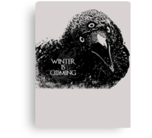 Three-eyed Raven ( GoT ) Canvas Print