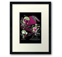 BobaDib Framed Print