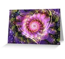 Heart of Infinte Beauty Greeting Card