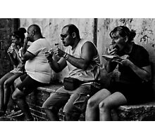 Lunch - Sienese style Photographic Print