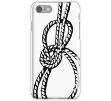 Bowline on a bight iPhone Case/Skin