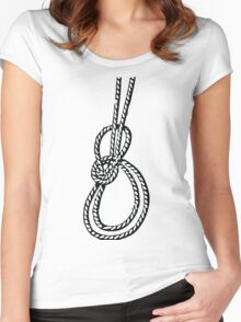 Bowline on a bight Women's Fitted Scoop T-Shirt