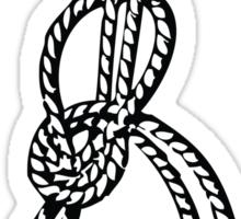Bowline on a bight Sticker