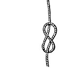 Figure-eight knot by Spencer Tymchak