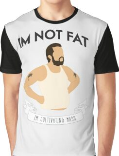 Cultivating Mass (White) Graphic T-Shirt