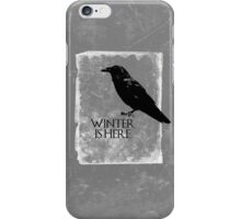 Winter is Here ( Night's Watch )  iPhone Case/Skin