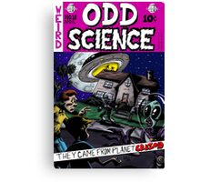 Odd Science Canvas Print