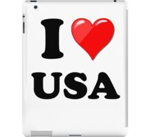 I Love USA iPad Case/Skin