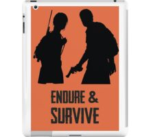 Ellie Joel Endure & Survive iPad Case/Skin