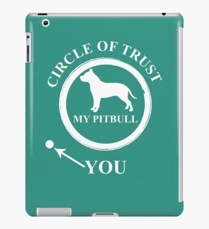 Pit Bull Circle iPad Case/Skin