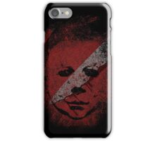Michael Myers - in the blood iPhone Case/Skin