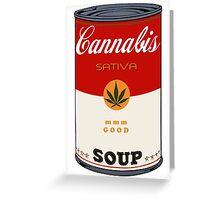 CANnabis Greeting Card