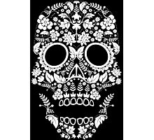 Day of the Dead skull Photographic Print
